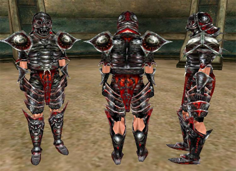 Daedric Armor, best set in Morrowind