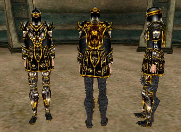 Ebony Armor in TES Morrowind