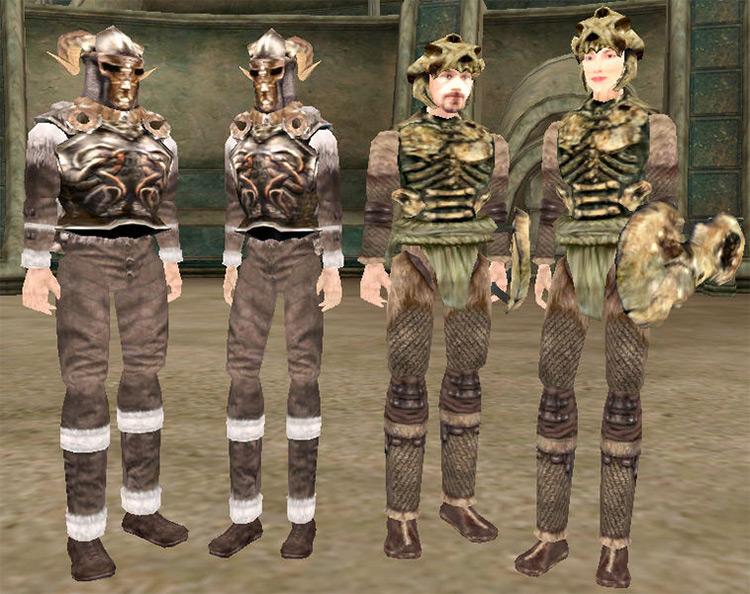 Nordic Iron Armor in Morrowind