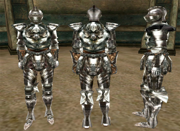 Steel Armor for TES Morrowind