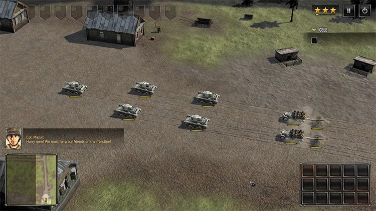 Polish Mission SuddenStrike4 mod