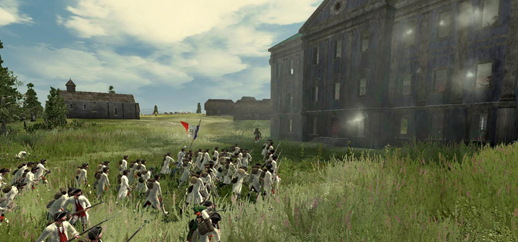 Terra Incognita Empire: Total War screenshot