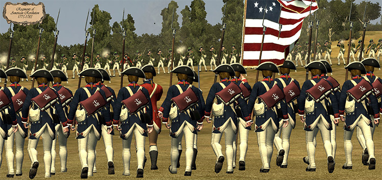 Regiments of American Revolution mod