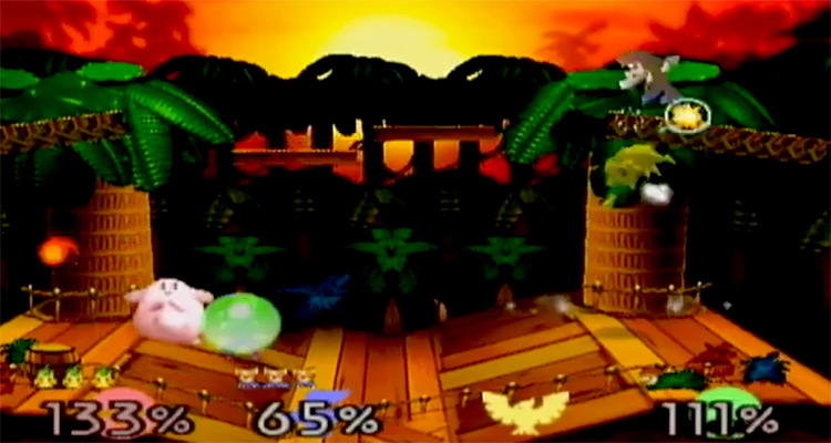 Super Smash Bros N64 screenshot