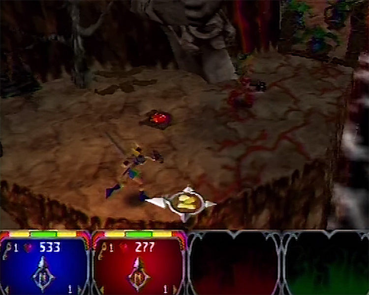 Gauntlet Legends N64 screenshot