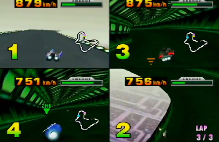 F-Zero X N64 screenshot