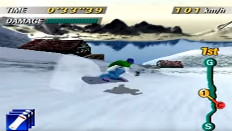 1080° Snowboarding on N64