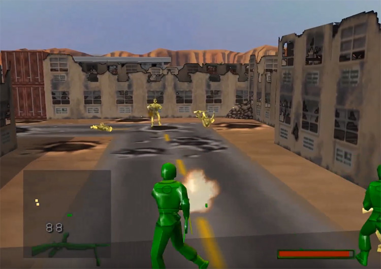 Army Men: Sarge's Heroes 2 on N64