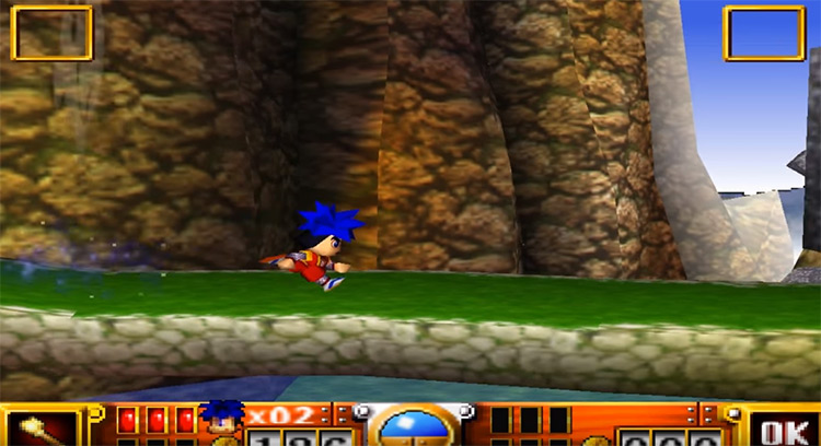 Goemon's Great Adventure N64 screenshot