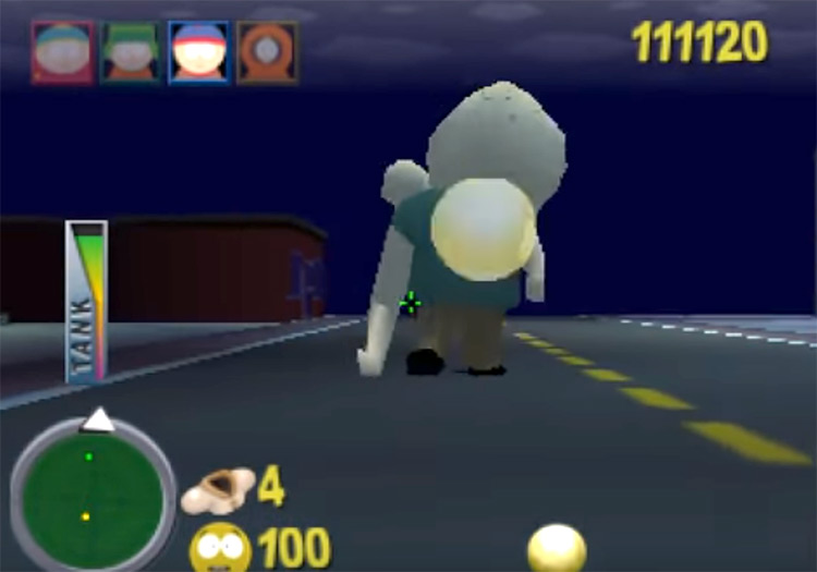 South Park game for N64