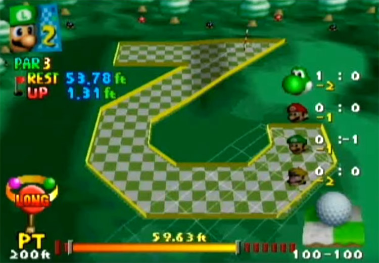 Mario Golf on Nintendo 64
