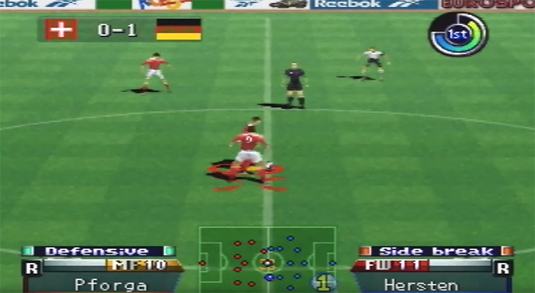 International Superstar Soccer '98 N64