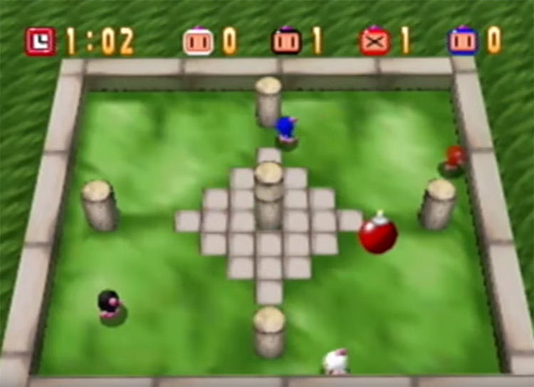 Bomberman 64 gameplay screenshot