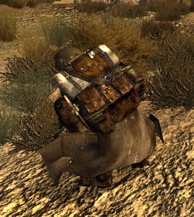 Military Backpack NewVegas mod