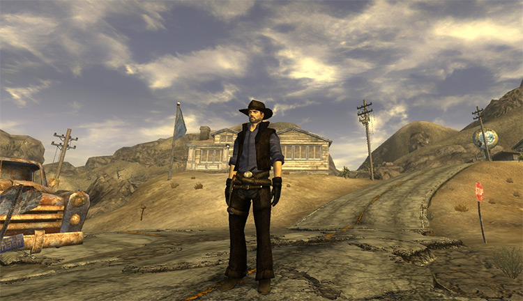 Gunslinger Outfit mod