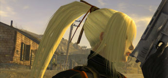 Blonde ponytail hair style for Fallout New Vegas