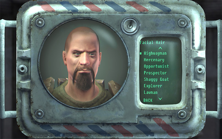 More Beards Mustaches Fallout New Vegas