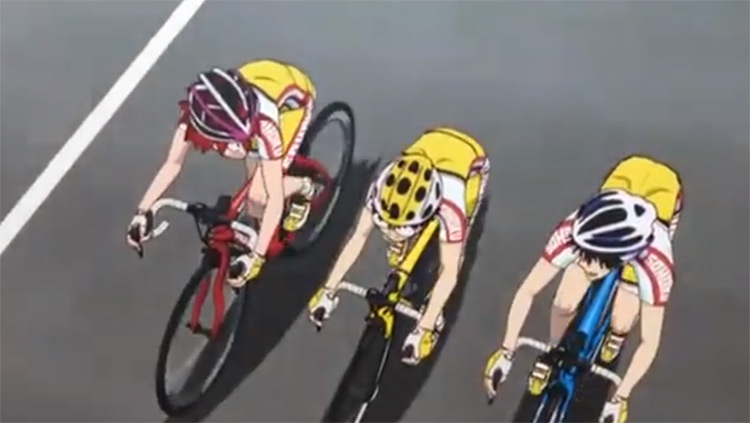 Yowamushi Pedal anime screenshot