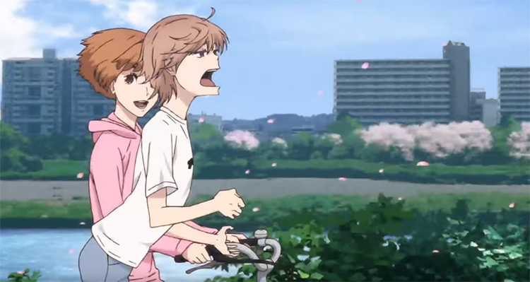 Run with the Wind anime screenshot