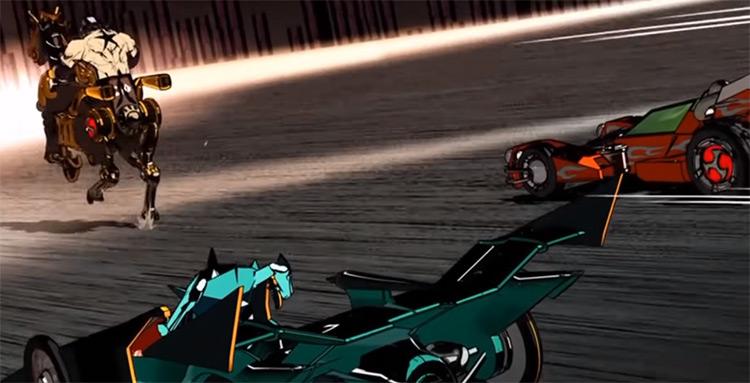 Tailenders anime screenshot