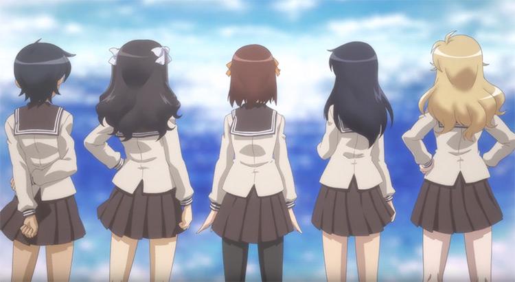 Minami Kamakura High School Girls anime