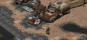Fallout 2 desert gameplay screenshot