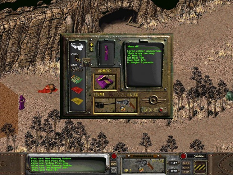 Fallout 2: Lands of Mordor mod