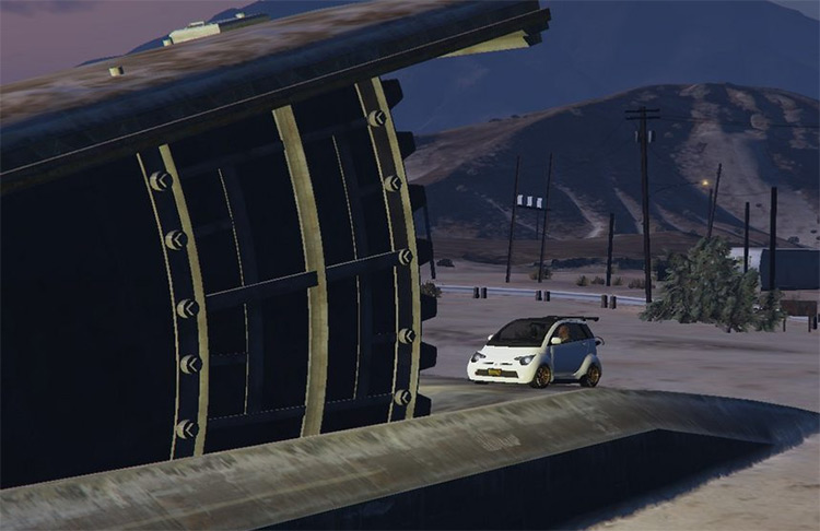 Grand Senora Oilfield GTA Bunker