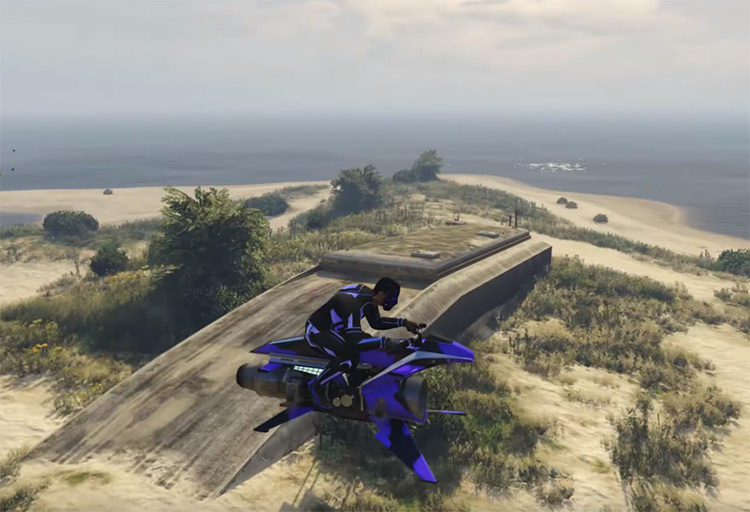 Lago Zancudo Bunker GTA Online