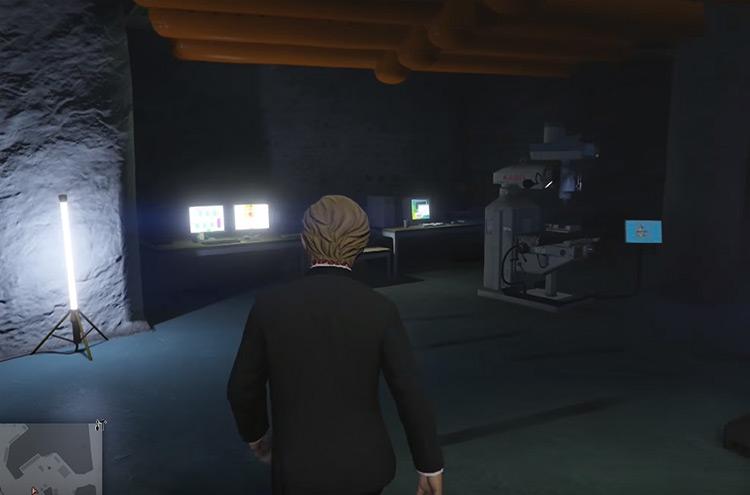 Raton Canyon Bunker GTA Online