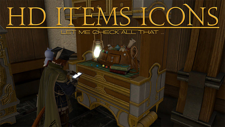 HD Item Icons mod