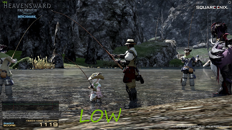 Flicker Optimization FF14