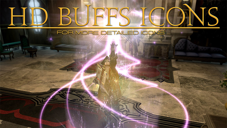 HD Buffs Icons FF14