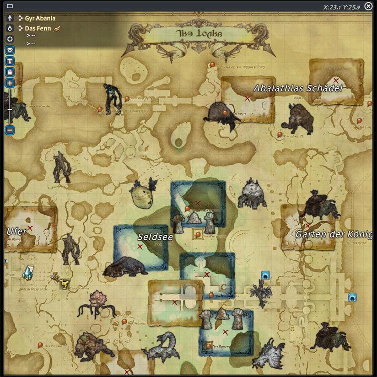 Moogle Maps mod