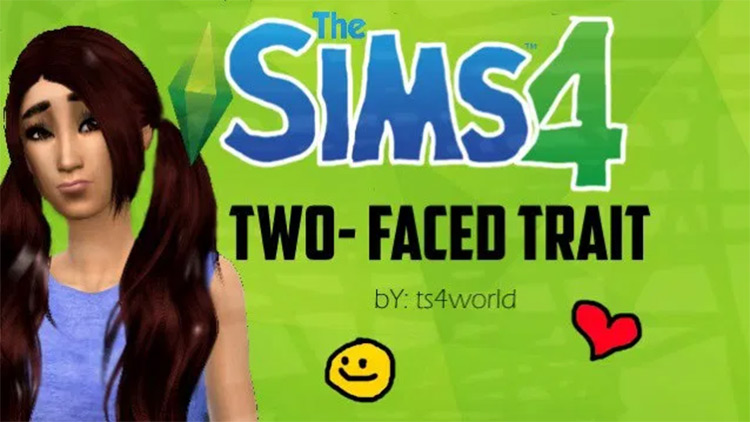 Two-Faced Trait in Sims4