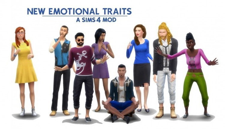 New Emotional Traits in Sims4