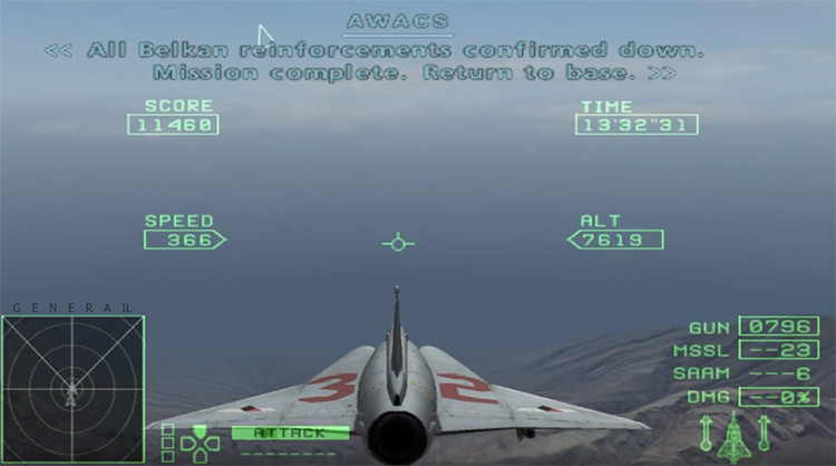 Ace Combat Zero: The Belkan War PS2