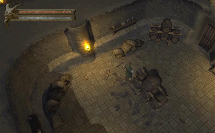 Baldur's Gate: Dark Alliance PS2