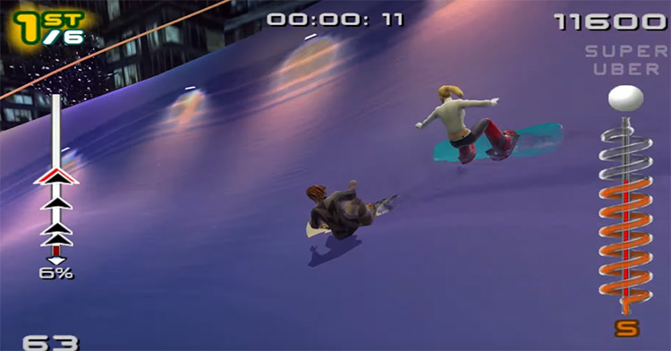 SSX 3 PS2 screenshot