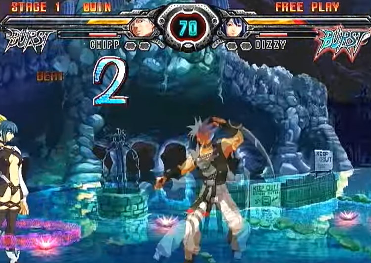 Guilty Gear XX Accent PS2 game
