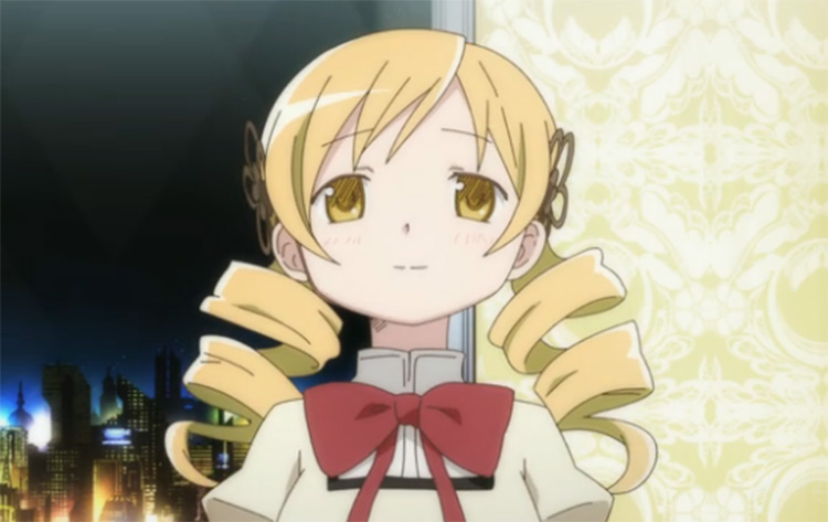 Mami Tomoe anime screenshot