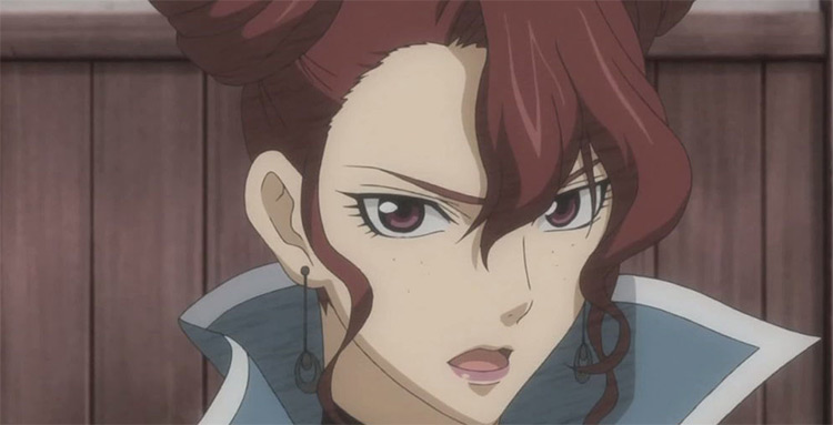 Brigitte Stark in Valkyria Chronicles anime