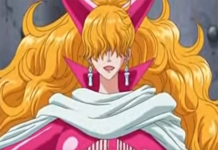 Sadi from One Piece anime screenshot