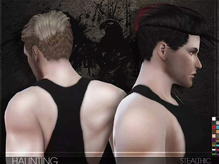 The Male hair haunting mod: