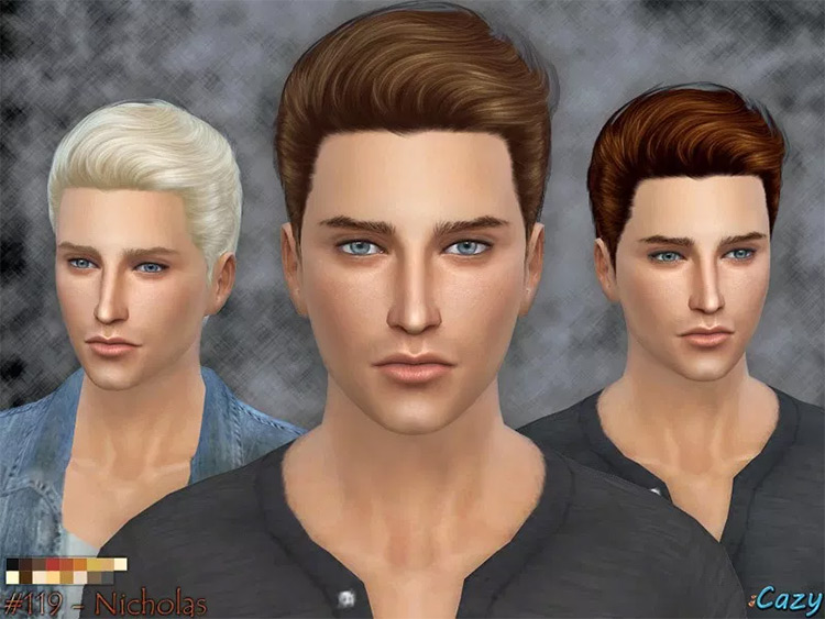 The Nicholas hairstyle for men: