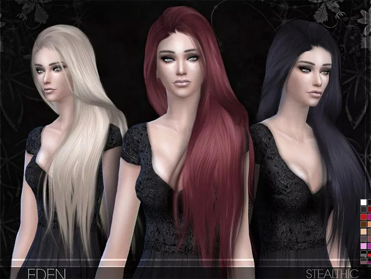 Eden Hair mod