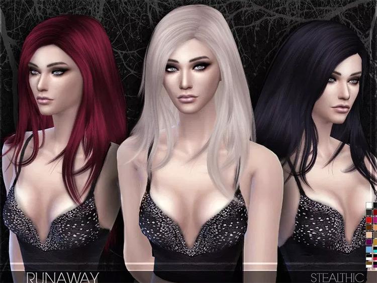 Runaway Hair mod