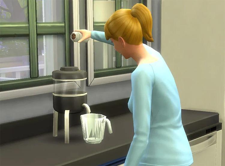 Juice Blender Sims4 mod