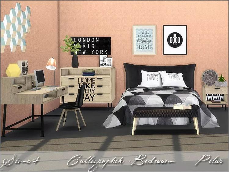Calligraphik Bedroom mod