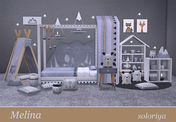 Melina Sims4 mod